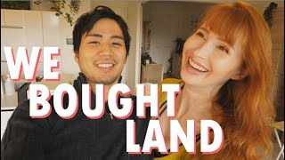 We bought land!