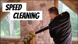House Cleaning -Man style speed cleaning