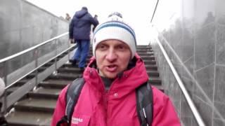 Снимаем на камеру прилюдно в Москве, в подземном переходе. [Преодолей свой страх]