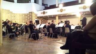 Latvijas Universitātes pūtēju orķestra koncerts Orķestra portrets. 12.10.2013. 2.mob.video.