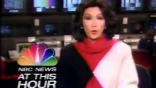 November 10, 1988 NBC News at This Hour (Connie Chung)