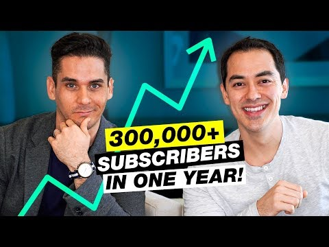 7 Tips for Growing 300,000+ Subscribers in One Year!