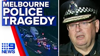 Four police killed in Melbourne freeway crash