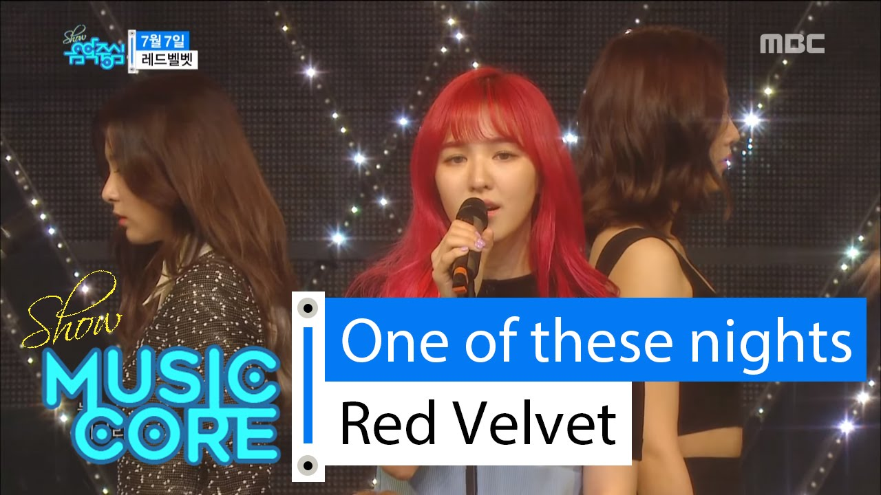 Download [HOT] Red Velvet - One Of These Nights, 레드벨벳 - 7월7일 Show Music core 20160319