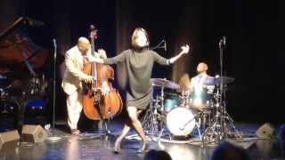 Ksenia Parkhatskaya with Christian McBride Trio