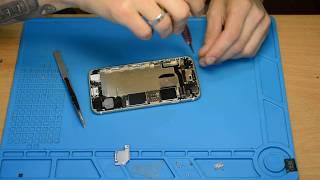 Telefon IPhone 6S emas, balki, shu jumladan, ta'mirlash, zaryadlovchi uchun javob bermaydi.