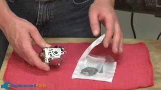 How to Fix a Blower Carburetor
