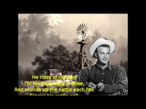 Cattle Call Eddy Arnold with Lyrics
