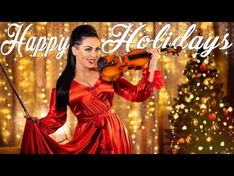 Rockin' Around The Christmas Tree 💃🏻🎄🎶Violin Cover Cristina Kiseleff