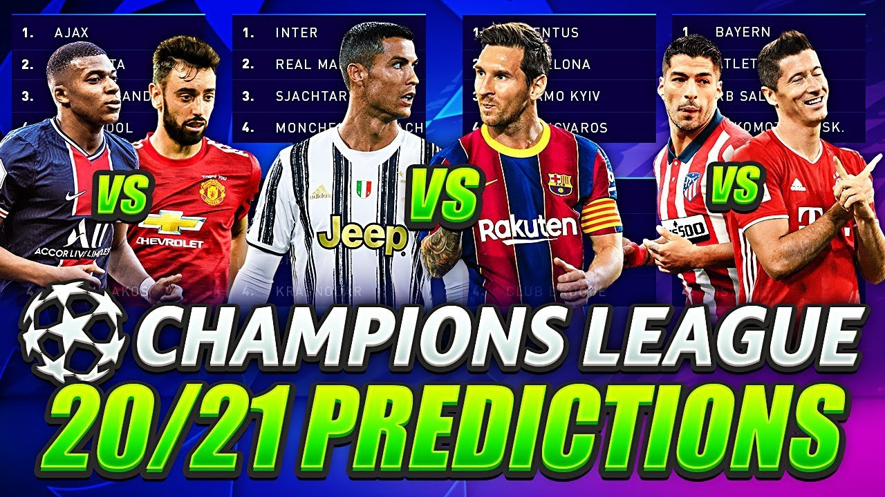 ?CHAMPIONS LEAGUE 2020/21 PREDICTIONS?| UCL 2020/2021 GROUP STAGE with RONALDO vs MESSI and MORE!??