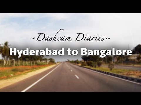 Hyderabad To Bangalore By Road In 10 Minutes