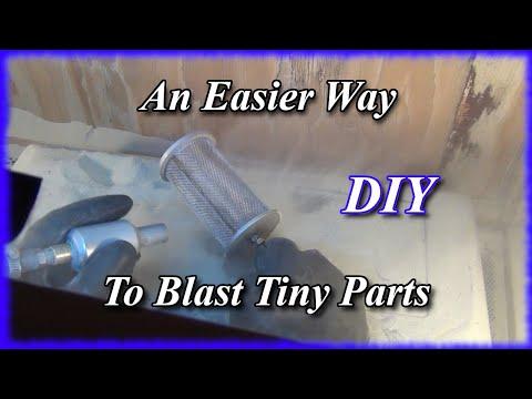 DIY Device to Easily Sand Blast Tiny Parts