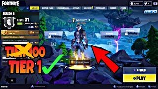 FORTNITE HOW TO GET DIRE WOLF SKIN WITHOUT TIER 100 GLITCH!