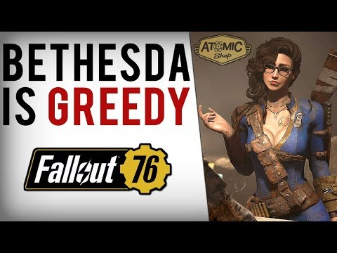 Bethesda Greed, 50+ Fallout 4 Items Paywalled In Fallout 76 Atomic Shop thumbnail