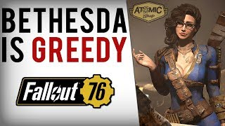 Bethesda Greed, 50+ Fallout 4 Items Paywalled In Fallout 76 Atomic Shop