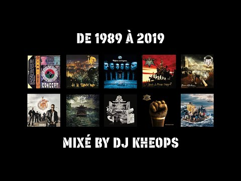 Youtube: IAM – De 1989 à 2019 – Mix By DJ Kheops