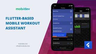 Flutter Demo App Example: Mobile Workout Assistant