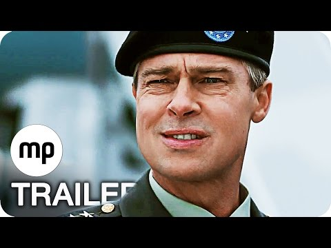 WAR MACHINE Trailer German Deutsch (2017) Brad Pitt Netflix Film