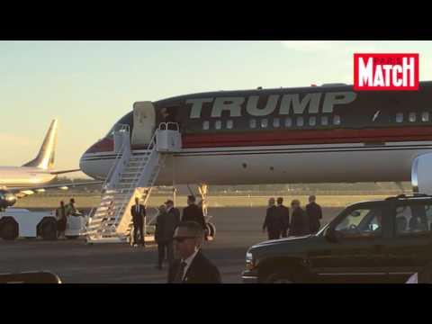 Donald Trump en campagne sur une musique guerrière