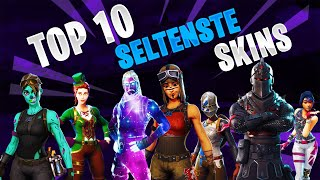 TOP 10 Seltensten Skins in Fortnite! Stand season 8! Recon expert, Ghoul Trooper, Renegade Raider