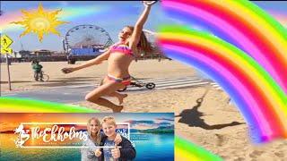 Rainbows & Rings at The Santa Monica Pier | Theekholms