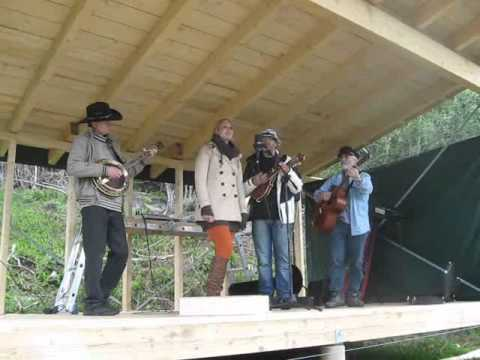 Will the circle be unbroken. Bluegrass gospel band - YouTube