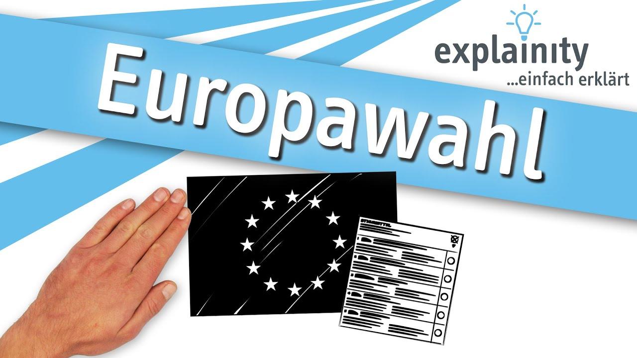 Europawahl einfach erklärt (explainity® Erklärvideo) - YouTube