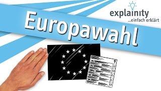 Europawahl einfach erklärt (explainity® Erklärvideo)
