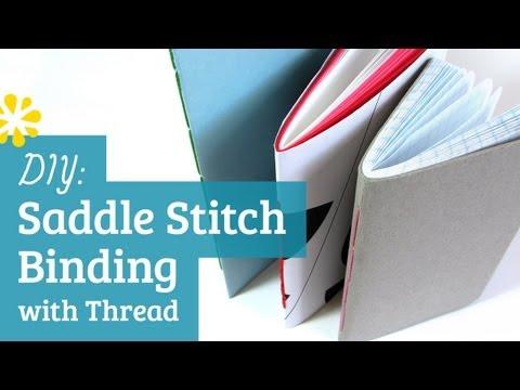 DIY Saddle Stitch Bookbinding Tutorial   Sea Lemon