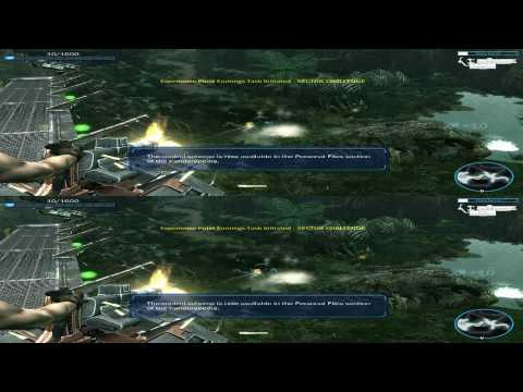 James Camerons Avatar The Game 3D Game Clip in Stereoscopic 3D 1080p TRU3D