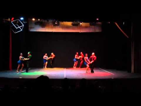 """Burn the floor"" ... CIA Salsa Merecumbe ~ Gala de Danza en"