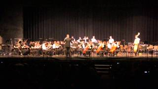 """NPHS Orchestra plays """"America"""" from West Side Story, arr. Bulla"""