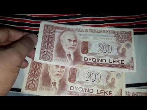 September 1 2018 Unboxing Beautiful Albanian Leke Banknotes