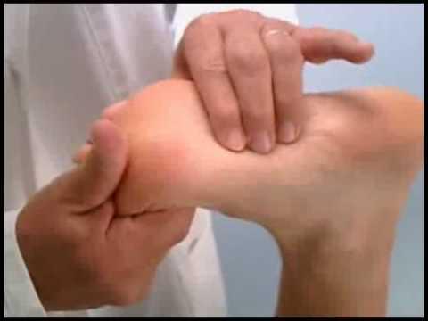 massage fascia plantaire