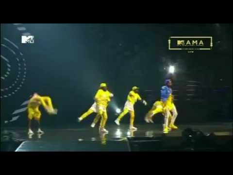 Perfomance ya Diamond Platnumz kwenye Tuzo za MTVMAMA2016
