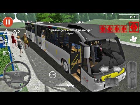 Public Transport Simulator #20 - Android IOS gameplay