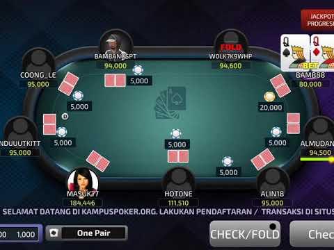 Play Idn Poker Kampuspoker Idn Poker Youtube