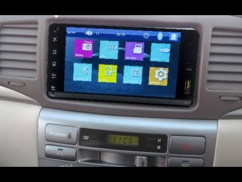 Штатная магнитола Toyota универсальная 2DIN (200x100мм) Windows CE TA-TMP5