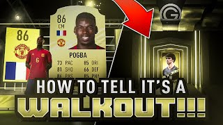 THE EASIEST WAY TO TELL IF IT'S A WALKOUT OR BOARD!!! FIFA 21 Ultimate Team