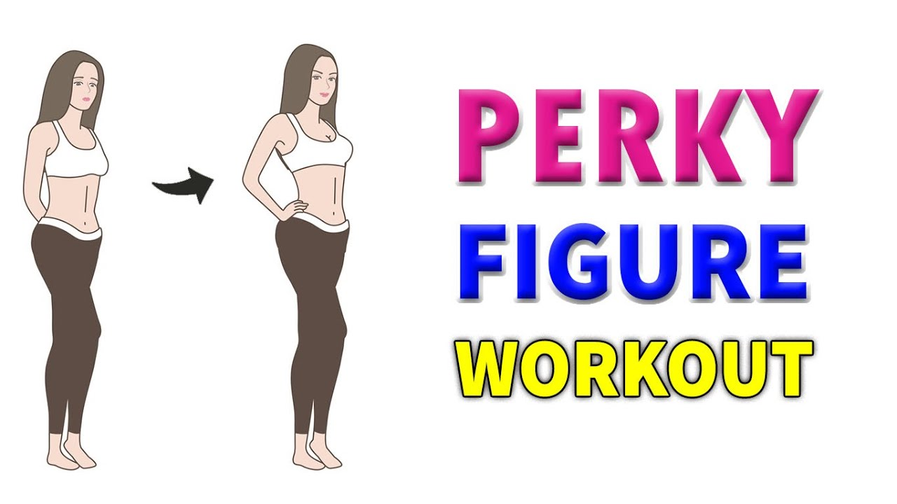 GET SHAPED & PERKY FIGURE AT HOME | 7 MIN EASY WORKOUT