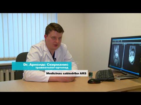 """О разрыве связок коленного сустава в программе """"600 секунд о здоровье и красоте""""."""