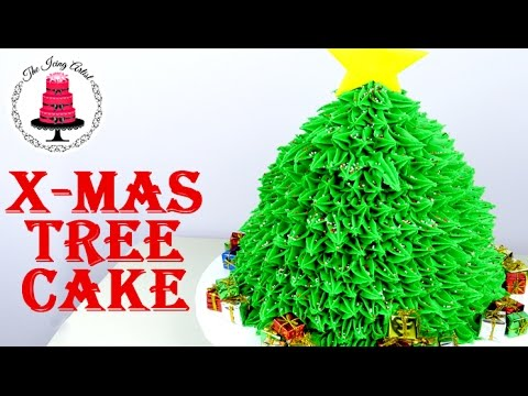 christmas-tree-cake---how-to-with-the-icing-artist
