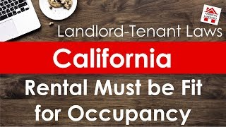 California Rental Property Must be Fit for Occupancy   American Landlord