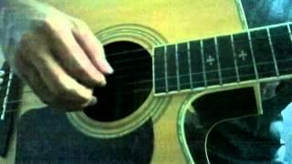 Giả vờ nhưng em yêu anh ( Miu lê ) guitar cover