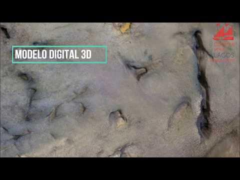 Digitalização de Pegadas de Dinosauro (Praia Santa, Vila do Bispo) | Projeto em Curso