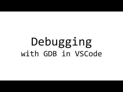 How to debug C code with GDB in VSCode (Linux)