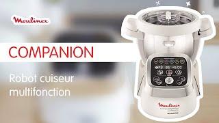 Pourquoi choisir le robot cuiseur Companion de Moulinex?