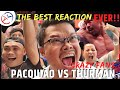 Pacquiao Vs Thurman Full Fight Reaction | The Best Reaction Video, Too Hyped,  He Was Going Crazy!!!