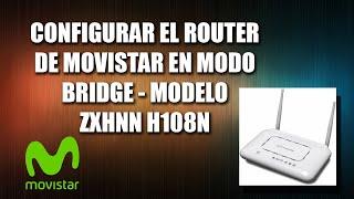 Cmo configurar el router de movistar en modo bridge