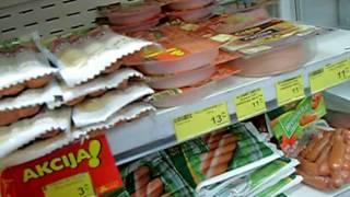 цены в маркете TOMMY. Хорватия